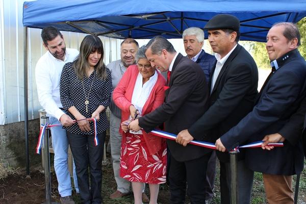 Inauguran  Sistema De Agua Potable Rural De Puraquina Alto