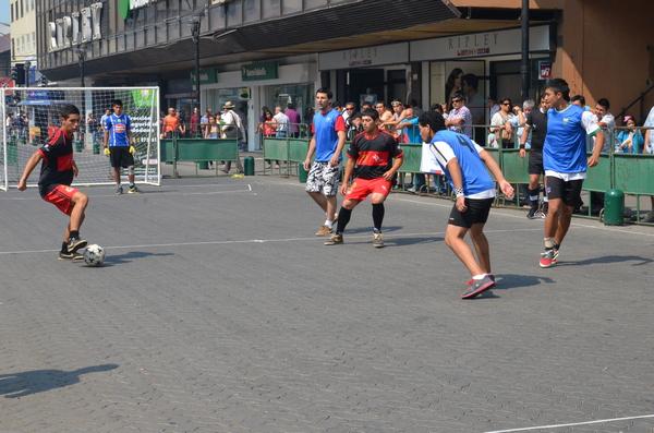 Hoy Se Desarrollará Primer Torneo De  Fútbol Calle En Balmaceda