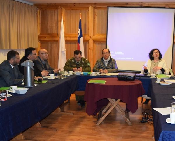 En Villarrica Se Reunió El Consejo Comunal De Seguridad Pública
