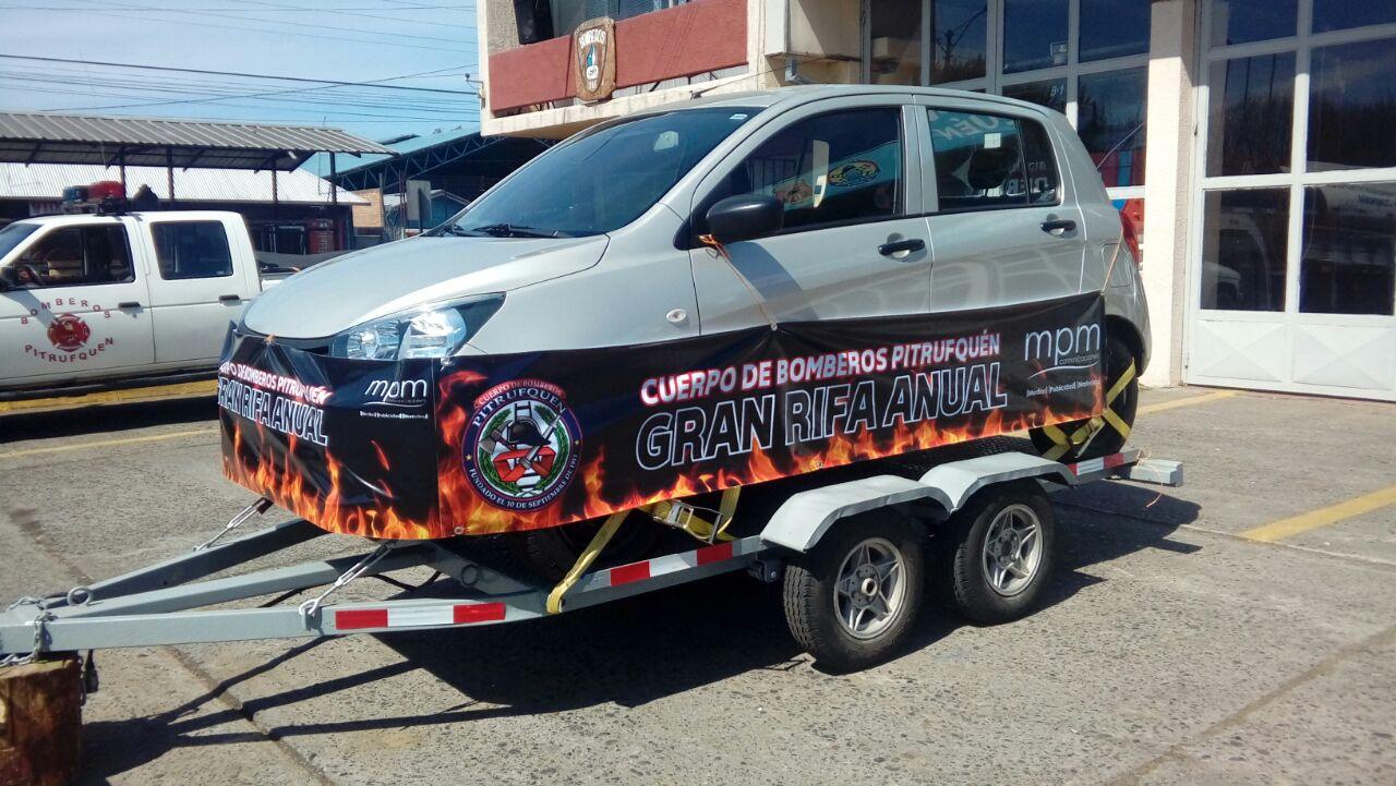 Auto De Rifa De Bomberos De Pitrufquén Tiene Flamantes Ganadores