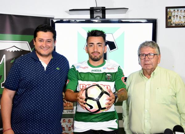 Guillermo Hauche Se Incorporó Al Plantel De Deportes Temuco
