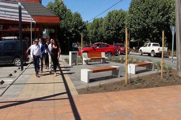 En Villarrica Entregan Oficialmente Remozada Avenida Aviador Acevedo