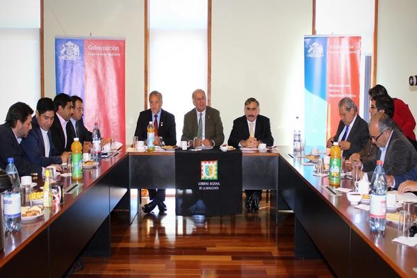 Intendente Dedicó Primera Agenda A La Provincia De Malleco