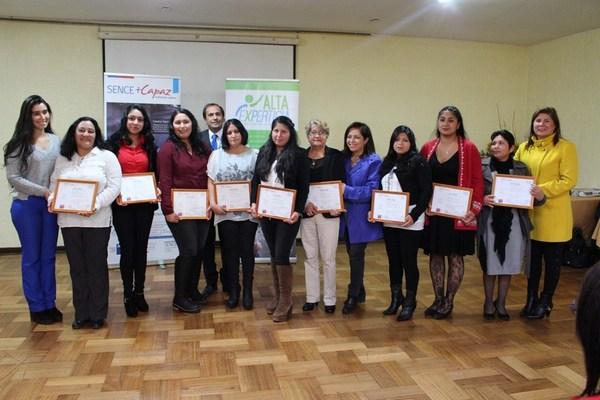SENCE Destacó  La Importancia De Empleabilidad Femenina