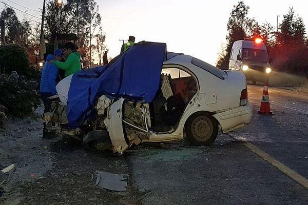 Dos Fallecidos Dejó Choque En La Ruta Villarrica – Licán Ray