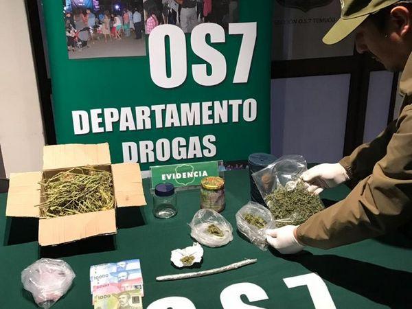 Detenido Joven Que Intentó Ingresar Droga A La Cárcel De Temuco