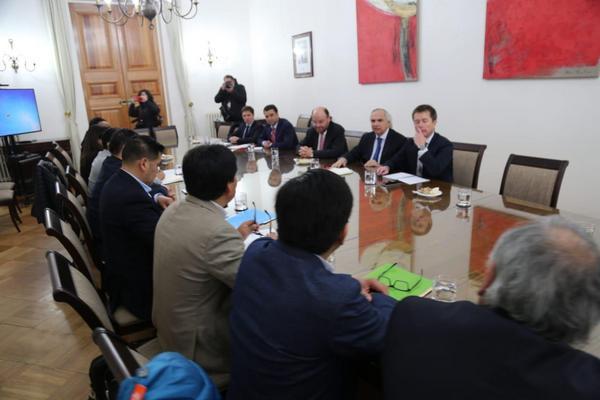 Alcaldes Mapuche Se Reunieron Con Ministros En La Capital
