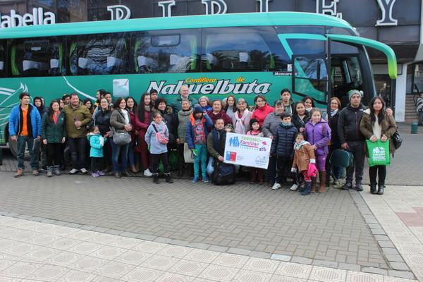 Familias Temuquenses Dan Vida A Programa Turismo Familiar