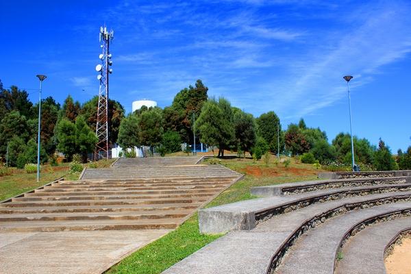 Autoridades Del Minvu Fiscalizan Conservación De Parque Urbano De Collipulli