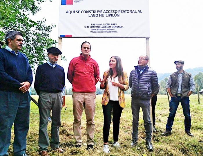 En Villarrica Autoridades Firman Acuerdo De Libre Acceso Al Lago Hulipilun