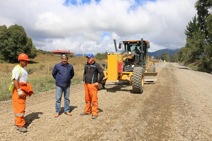 MOP Avanza En Un 70 Por Ciento Obras De Pavimentación De Ruta Curacautín – Conguillio