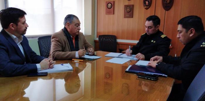 Alcalde Barra Solicitó Mayor Contingente A Gobernador Marítimo De Valdivia