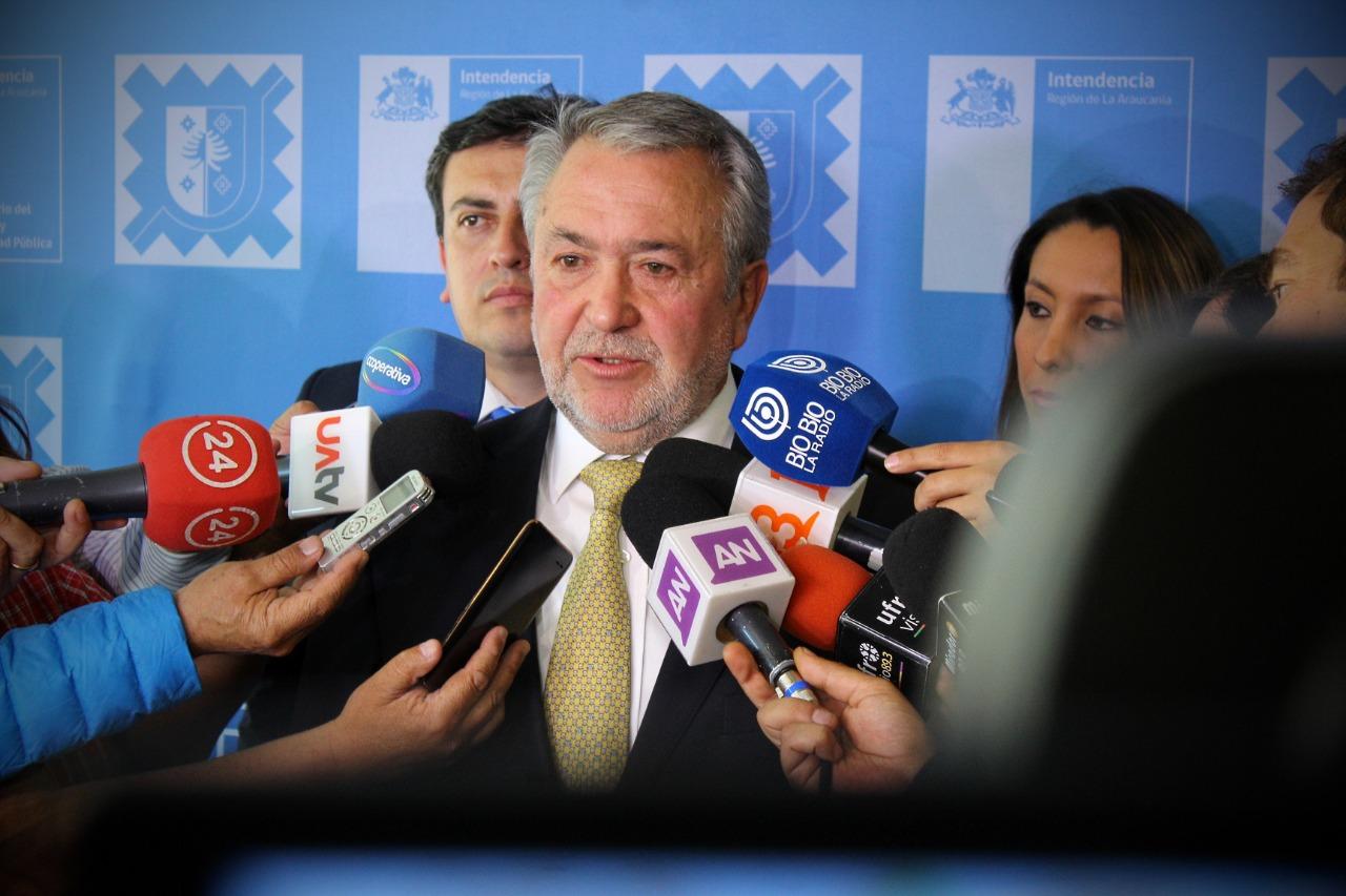 Intendente Atton Abre Posibilidad de Modificar Plan Impulso Araucanía Frente a Crisis Social Del País