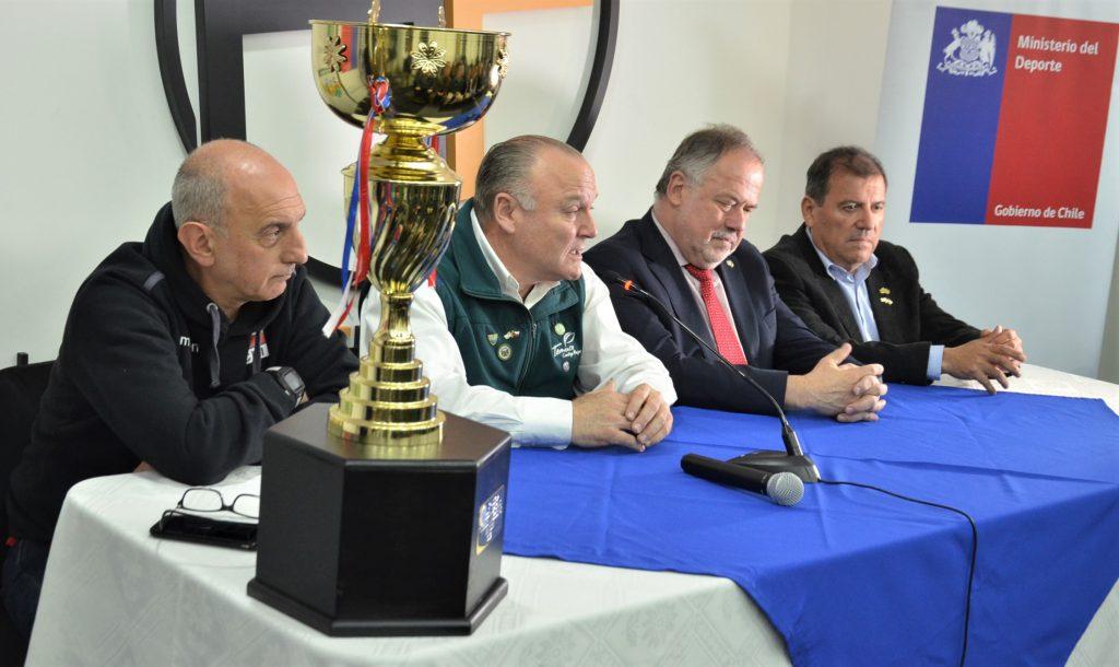 Autoridades Lanzan Sudamericano de Vóleibol Masculino 2019 en Temuco