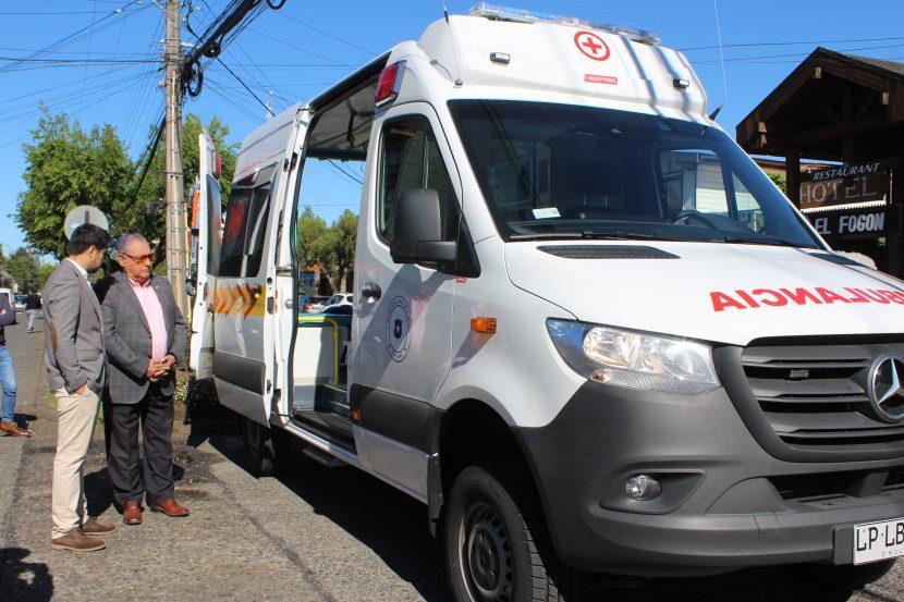 Municipio de Pucón Recibió Moderna Ambulancia Para Sistema Primario de Salud