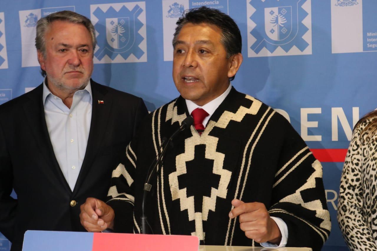 Ex Gobernador de Cautín Richard Caifal Inscribió Candidatura a Constituyente