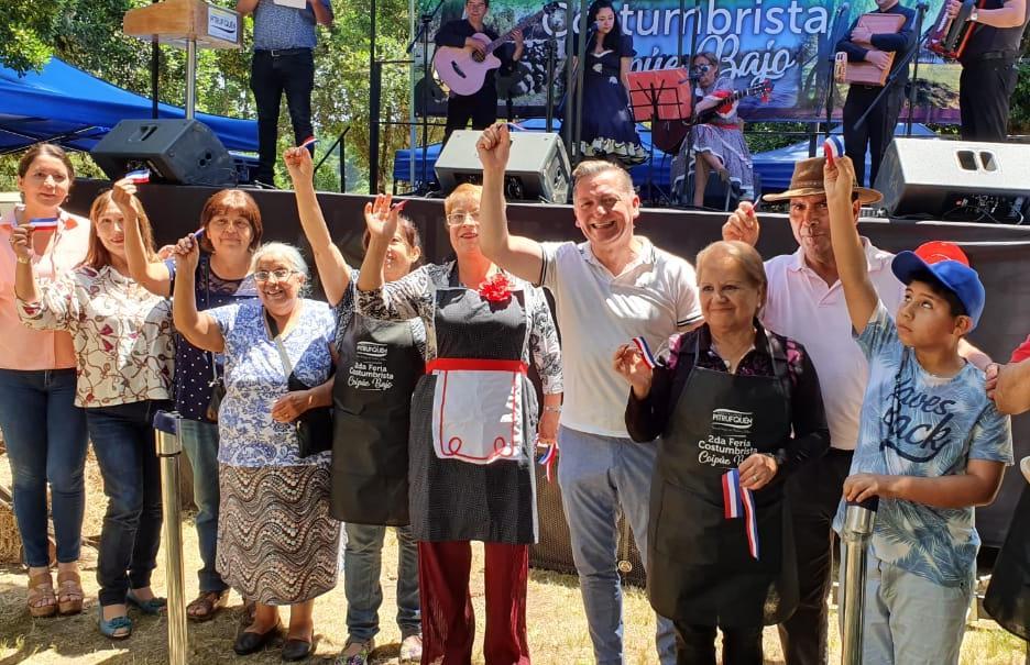 A Tablero Vuelto se Desarrollaron Fiestas Costumbristas en Pitrufquén