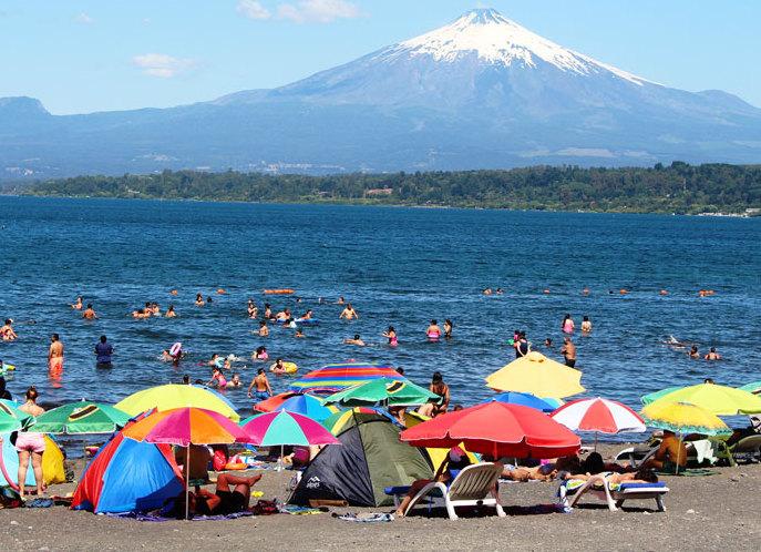 Villarrica Presenta un 8% de Aumento de Ocupación Turistica Este 2020