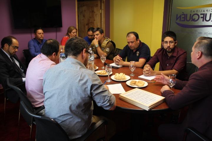 COE Comunal de Pitrufquén Se Reunió Ante Eventuales Emergencias Por Altas Temperaturas