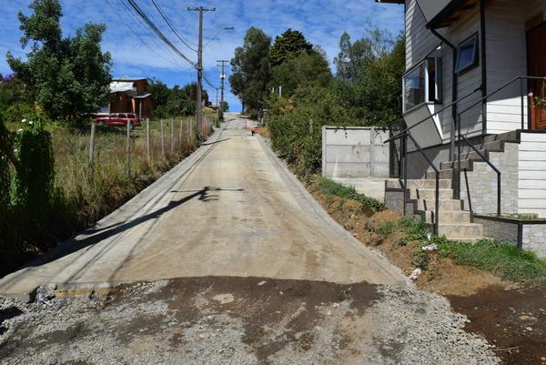 En Villarrica Pronta a Finalizar Pavimentación en Muñoz Meli