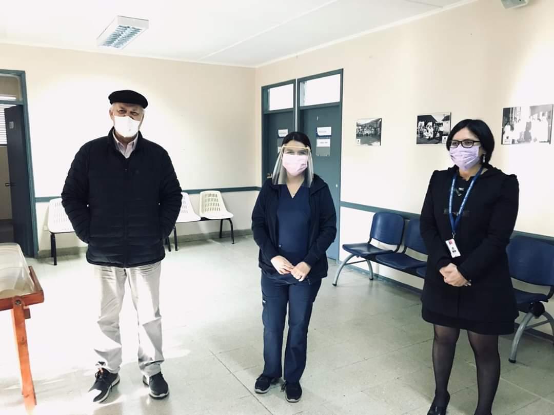 Municipio Entrega Protectores Faciales a Funcionarios Del Hospital de Gorbea