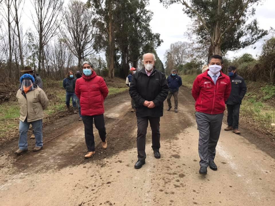 Se Inician Obras de Asfalto en Camino de la Cuarta Faja en Gorbea
