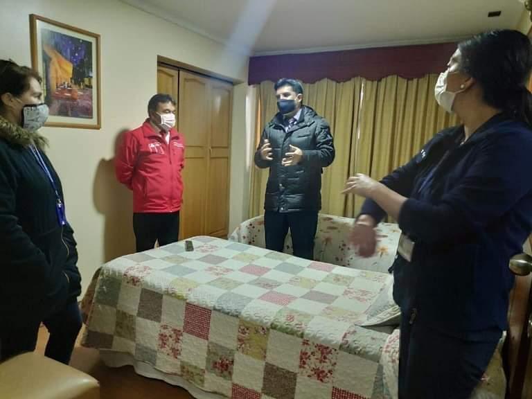 En Angol se Habilita Primera Residencia Sanitaria en Malleco