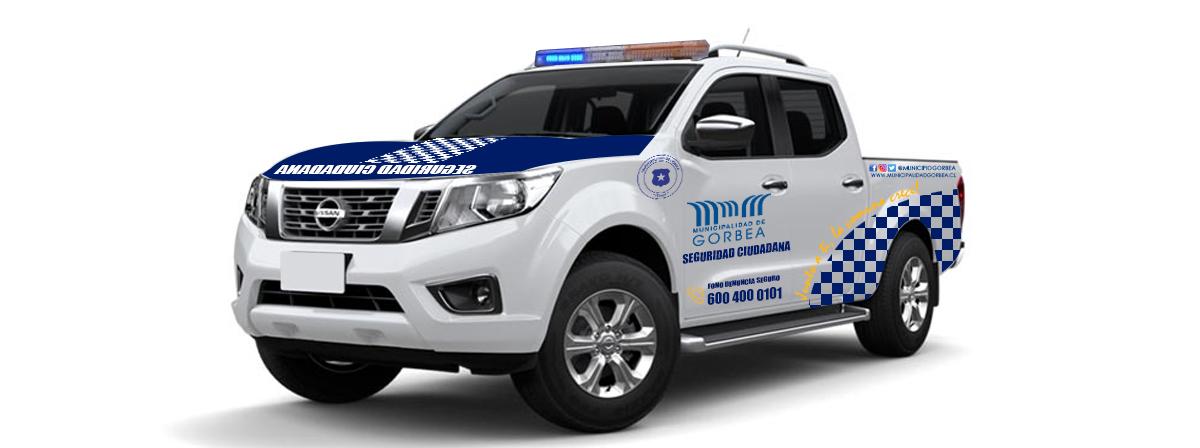 Municipio de Gorbea se Adjudica Vehículo Para Seguridad Ciudadana