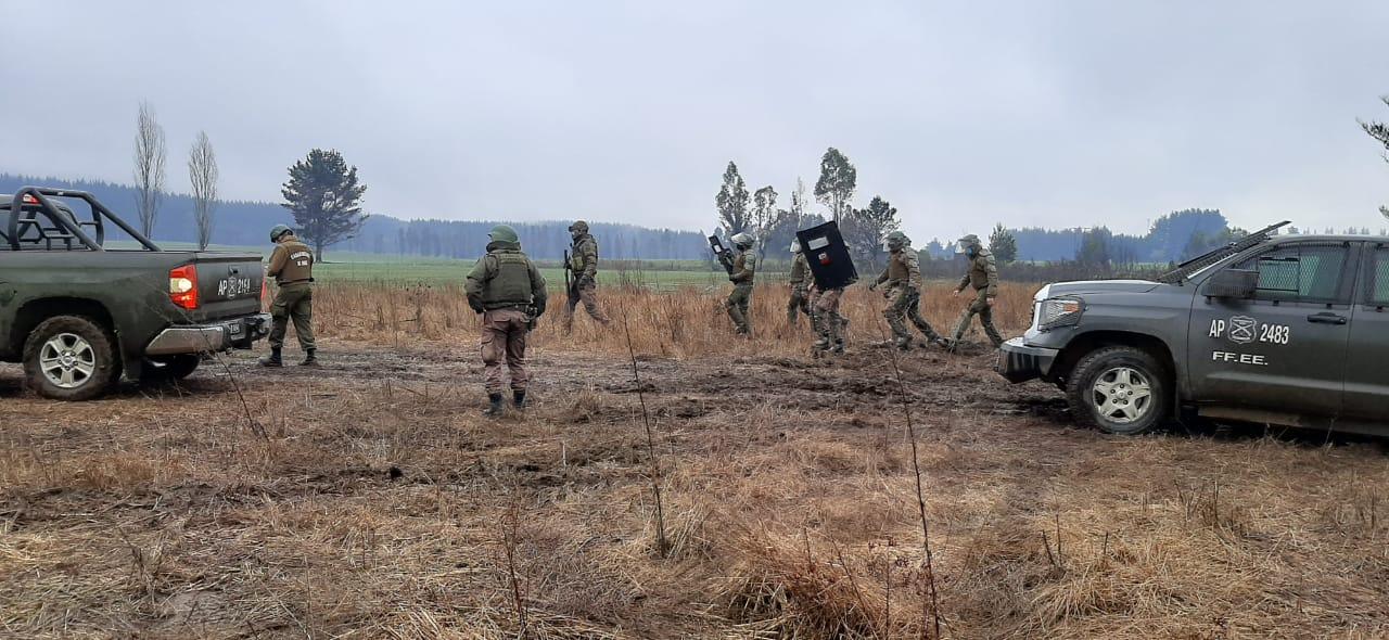 Amplio Operativo Policial Y Militar: Tren De Carga Descarriló Tras Ataque A Maquinista Con Arma De Fuego