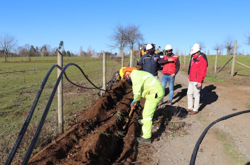 MOP Ejecuta Proyectos De Agua Potable Rural Para 1.765 Habitantes De La Comuna De Freire