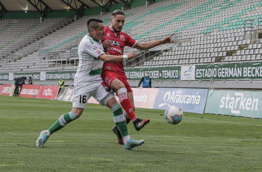 Sólo Un Magro Empate 0-0 Consiguió Deportes Temuco Esta Tarde En Becker Frente A D. Valdivia