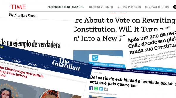 Plebiscito Chileno Acaparó Titulares De Hoy De Prensa Mundial Con Distintos Enfoques