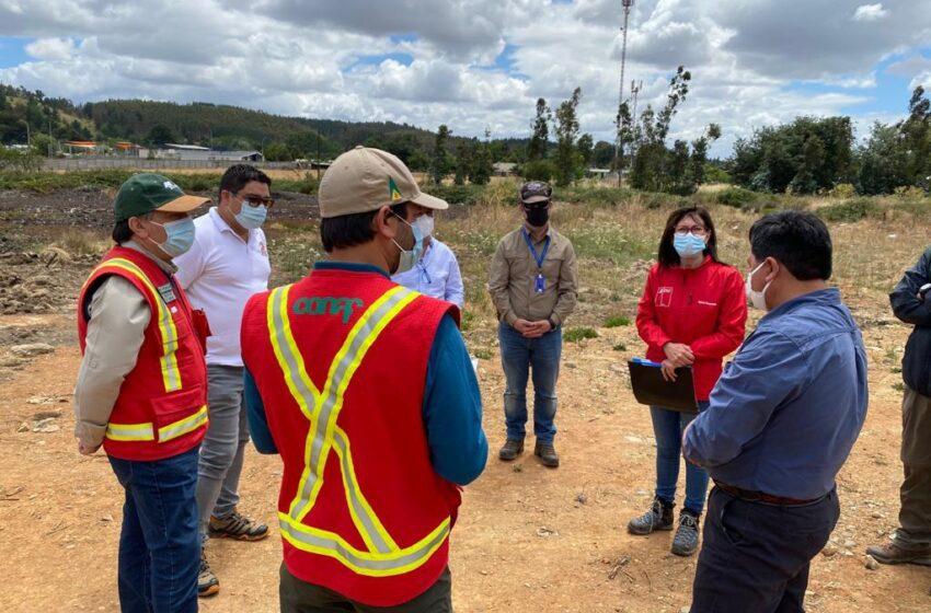 Autoridades Supervisan Realización de Cortafuegos en Cuatro Comunas de Malleco