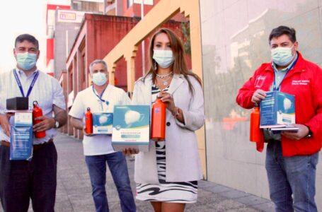 Hospital Regional de Temuco y Servicio de Salud Araucanía Sur Reciben Elementos de Protección