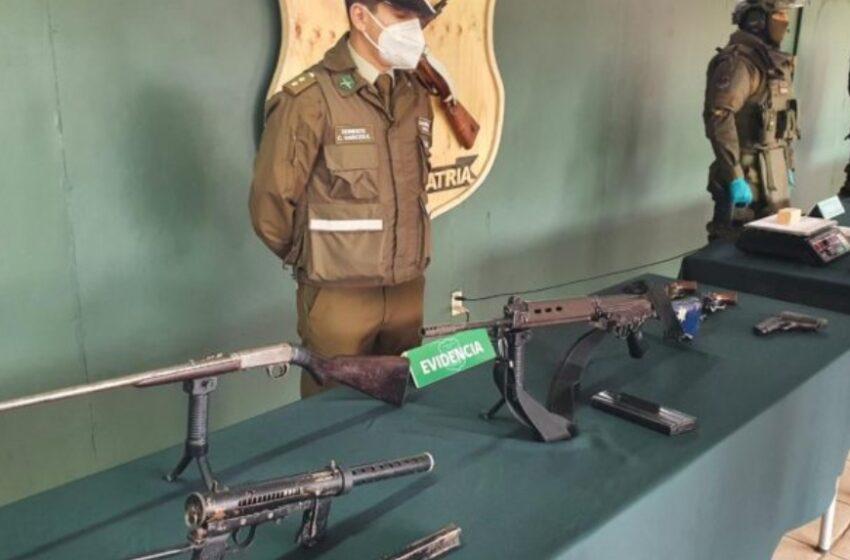 Prisión Preventiva Para Funcionario Del Poder Judicial Que Poseía Arsenal de Guerra