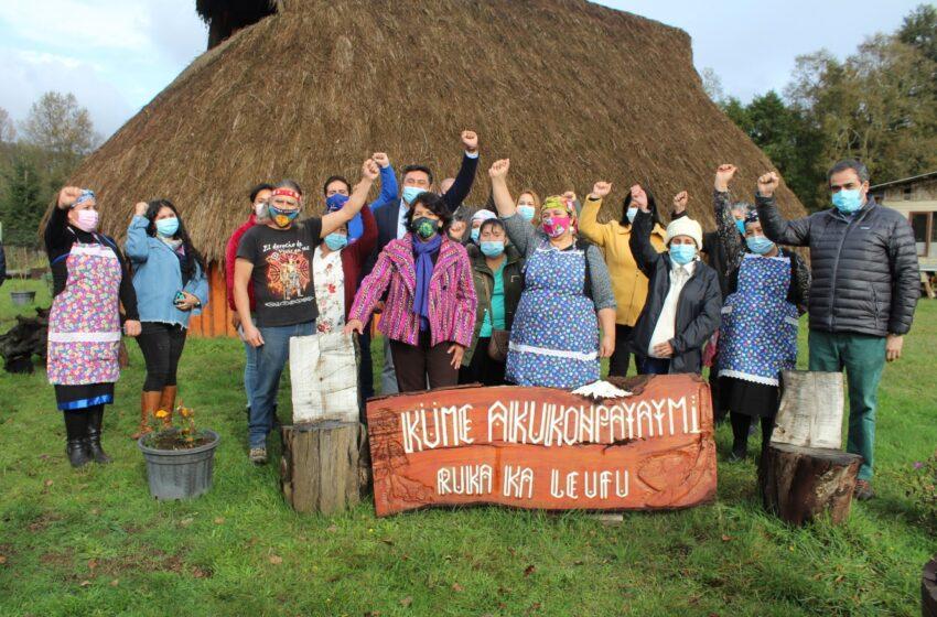 Yasna Provoste se Reunió Con Mujeres Líderes Mapuches de la Comuna de Loncoche