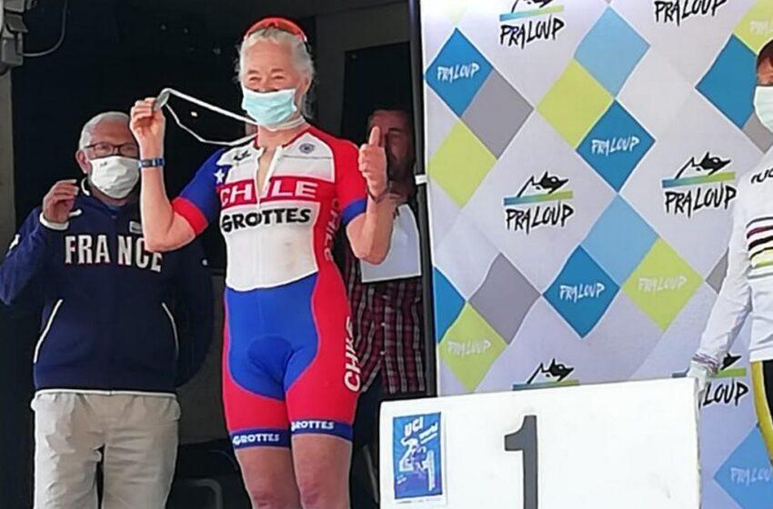 Valerie Coxhead obtiene segundo lugar a nivel mundial en UCI Mountain Bike Masters World Championships 2021
