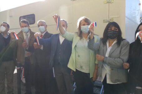 Inauguran Clínica Dental Móvil en Pitrufquén